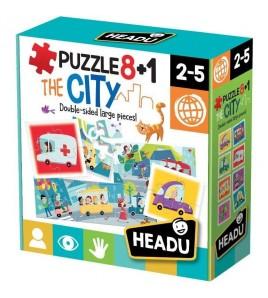 PUZZLE 8+1 CITY